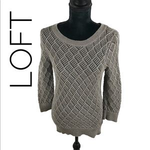Very stylish sweater by loft.